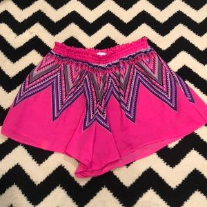 LUSH flowy shorts